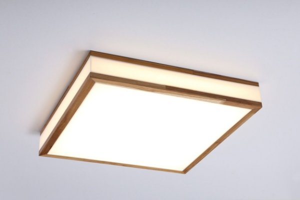 Plafon LED Sobrepor de Acrílico e Alumínio Lignum Branco - Bella Italia