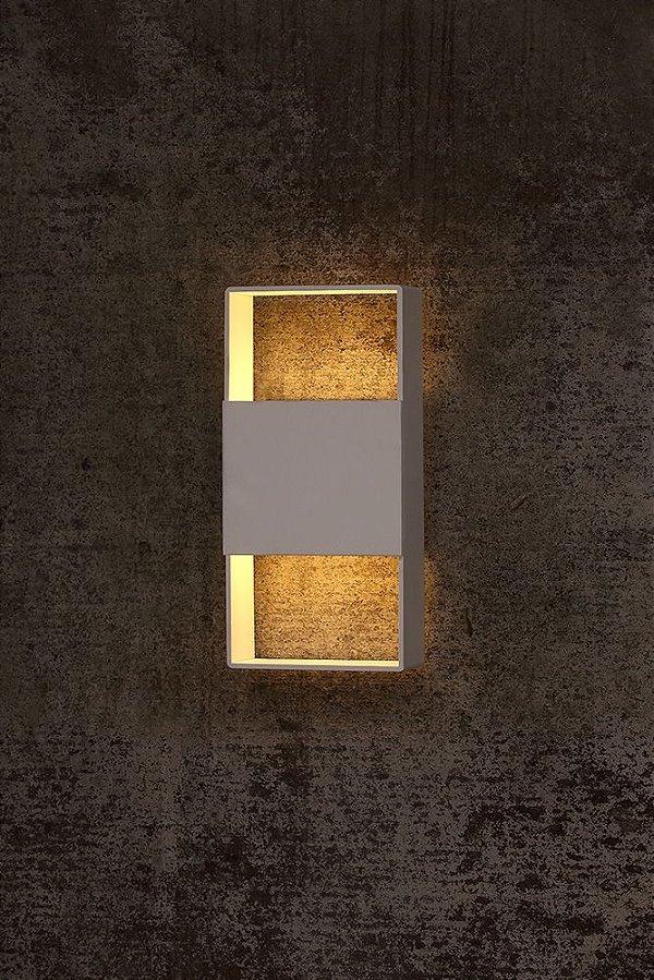 Arandela de Alumínio Ayla 1 x G9 LED Branco - Bella Italia