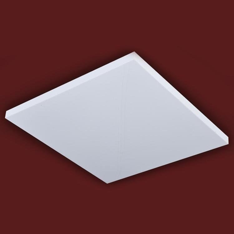 Plafon de Embutir D&D Iluminação Space 20cm x 20cm x 2cm Branco