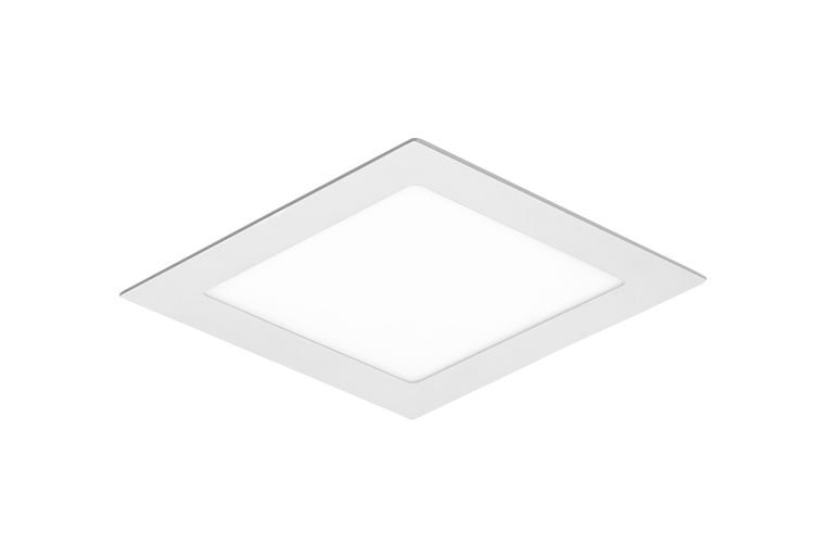 Painel LED de Embutir Quadrado  205 x 205mm 18w 6000k 1260lm - LEDT14 Abalux