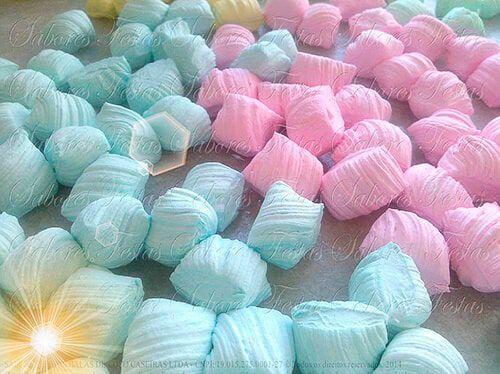 Balas de coco artesanais colorizadas|Sabor Tradicional Coco | 1 Quilo
