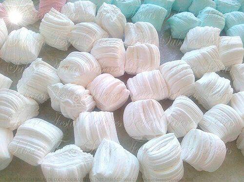 Balas de coco artesanais |Tradicional coco | 1 Quilo