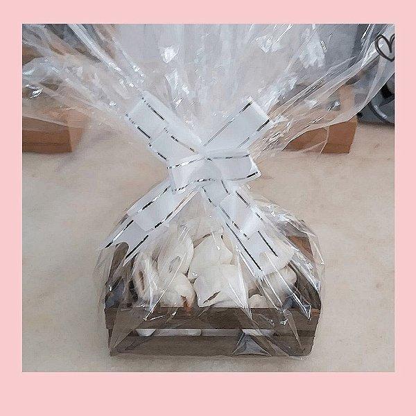 Lembrancinhas personalizadas | Balas de coco em caixotinhos personalizados | Quantidade mínima - 10 unidades