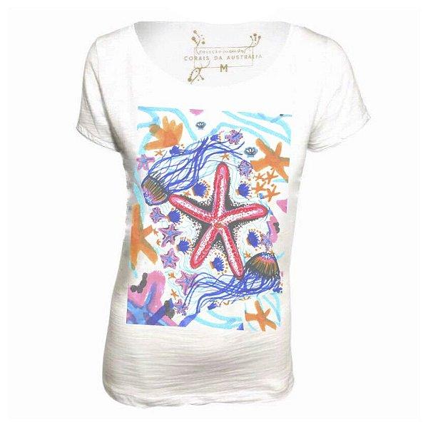 Estampa Estrela  t shirt