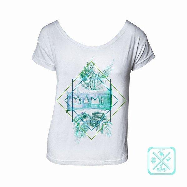 Camiseta Miami branca