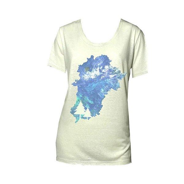 Camiseta Islândial branca