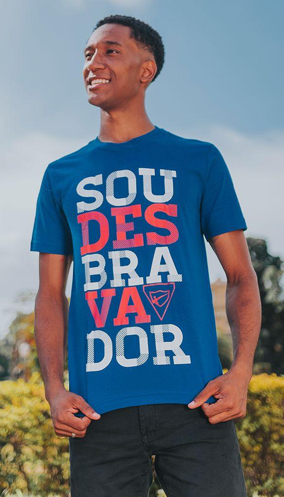 "Camiseta ""SOU"" - Azul"