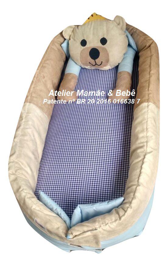 Ninho para bebê - Ursinho Realeza Versão 2017 Atualizado