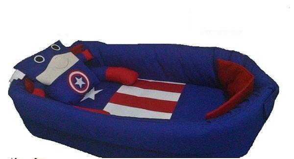 Ninho para bebê - Capitão America