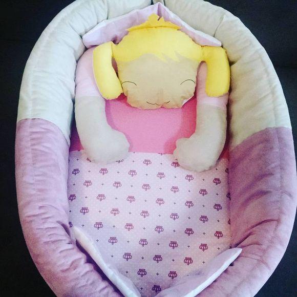 Ninho para bebê - Princesa