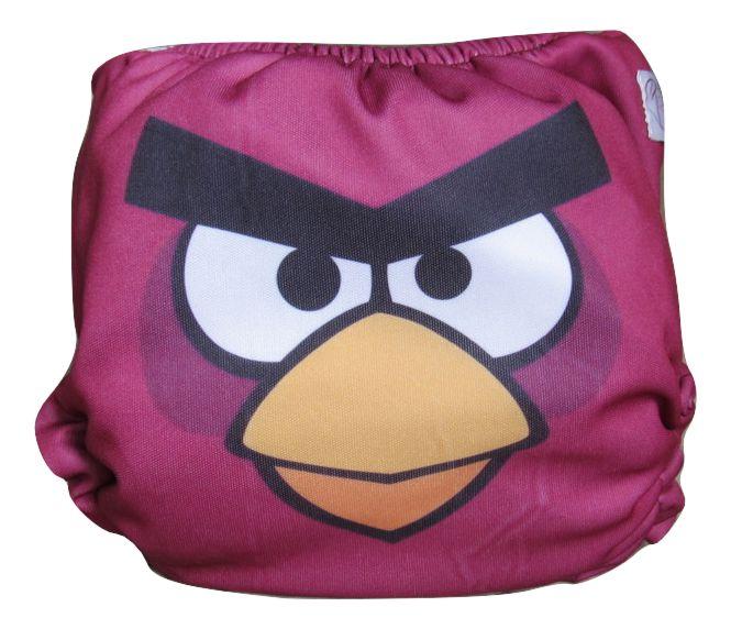 Fralda dia a dia Angry Birds - Red