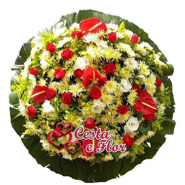 Preferência Coroa de Flores Primavera - Floricultura São Paulo e Região  OZ61