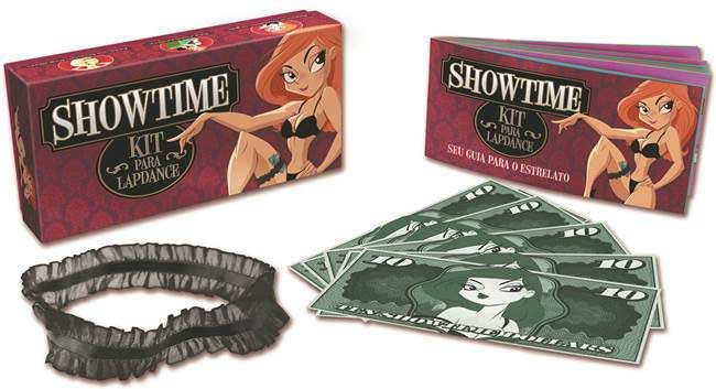 Kit para lapdance - showtime