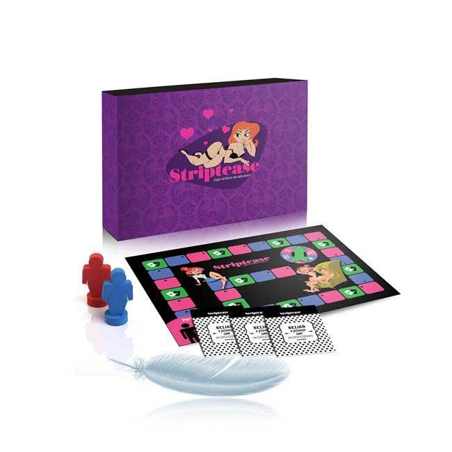 Jogo strip tease - jogo de tabuleiro