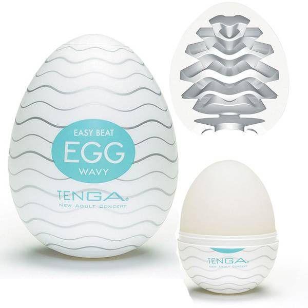 Masturbador tenga egg ovo - wavy