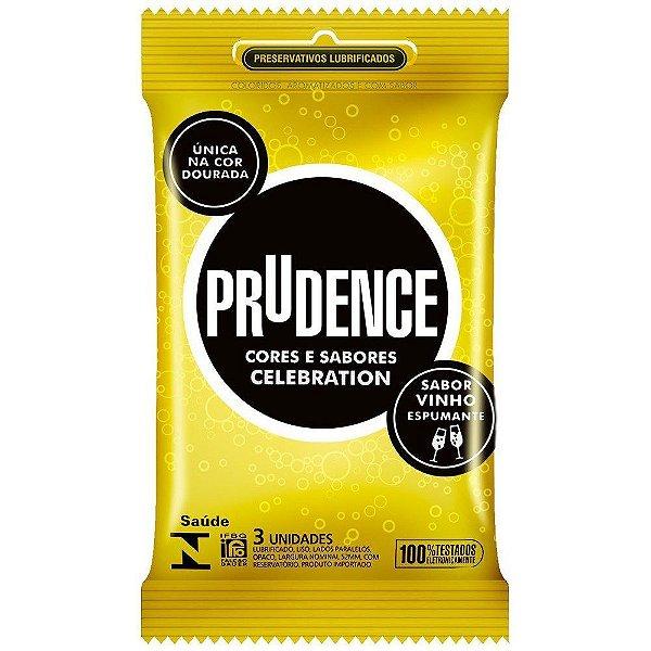 Preservativo camisinha prudence celebration - 3uni