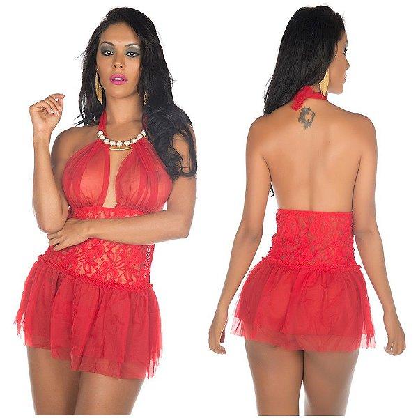 Camisola afrodite vermelha