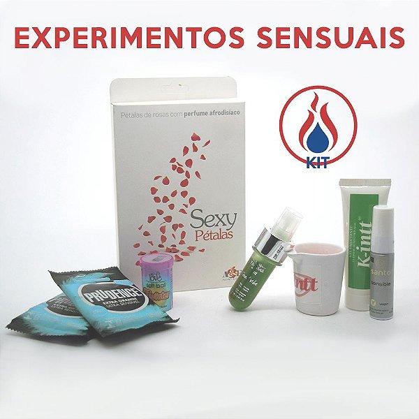 Kit Experimentos Sensuais