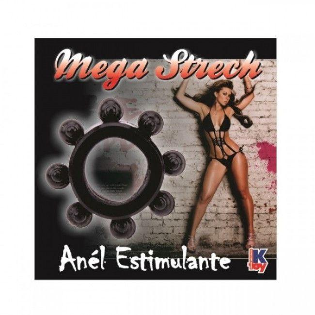 ANEL PENIANO MEGA STRECH - COR PRETA