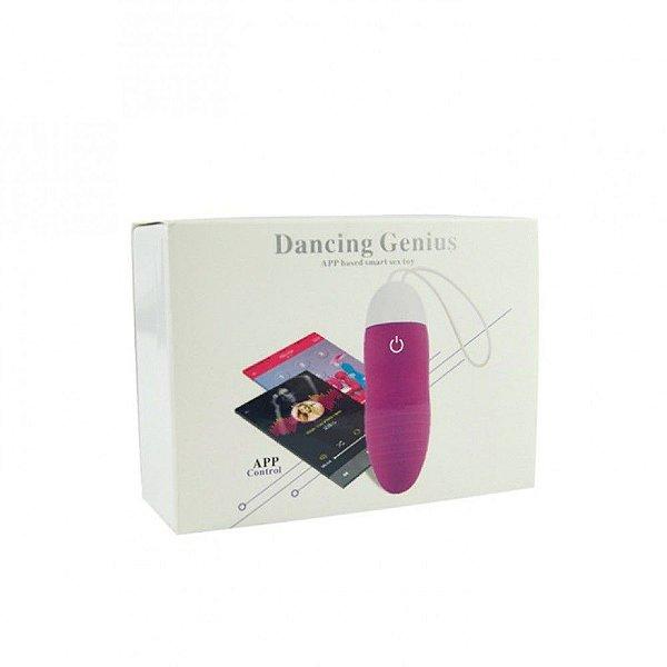 MANNUO Dancing Genius - Bullet Recarregável 10 modos de vibrações conectado por APP via Bluetooth