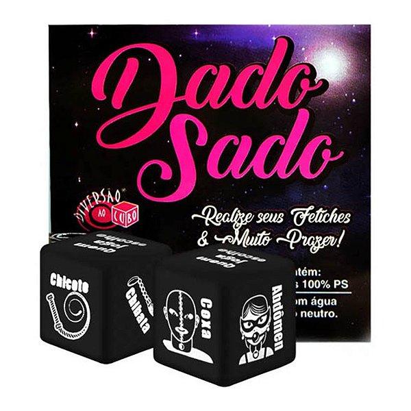 DADO SADO - 2 DADOS ERÓTICOS DE FETICHES