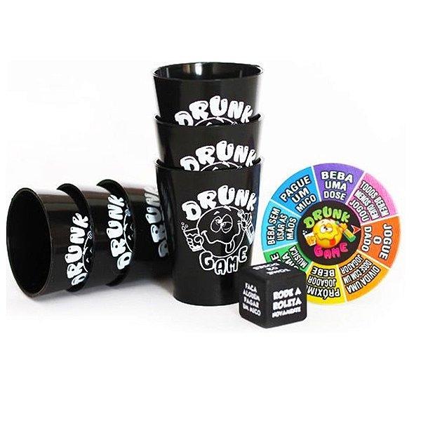 DRUNK GAME SPINNER -  SHOT DRINK COM DADO