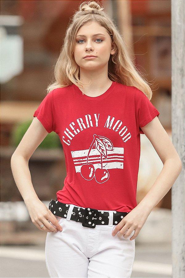 ESPECIAL SALE   Blusa Teen Cherry Mood