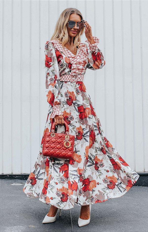 URBAN STYLE | Vestido Longo Estampa Imagine