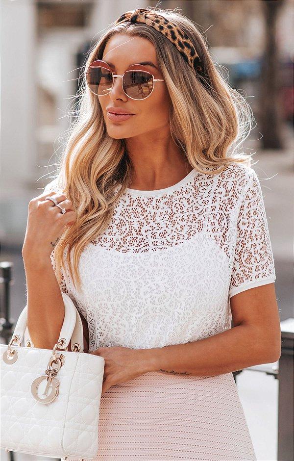 SPRING PREVIEW | Blusa Off White Rendinha