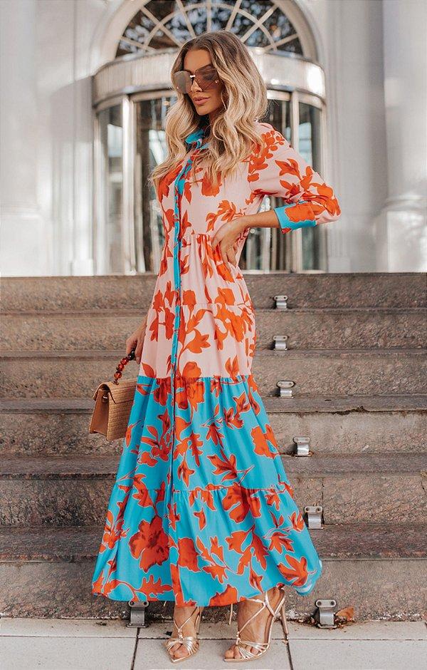 SPRING PREVIEW | Vestido Bicolor Rosário