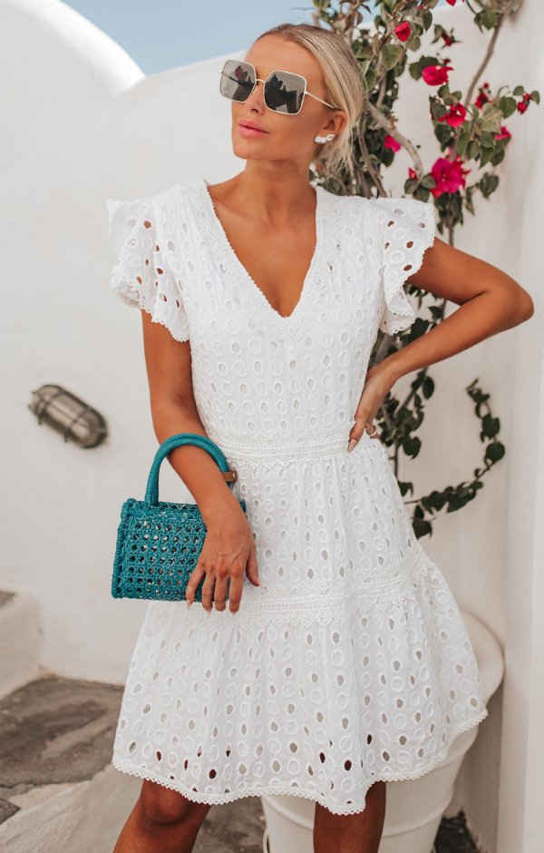 SANTORINI | Vestido Lese Téia