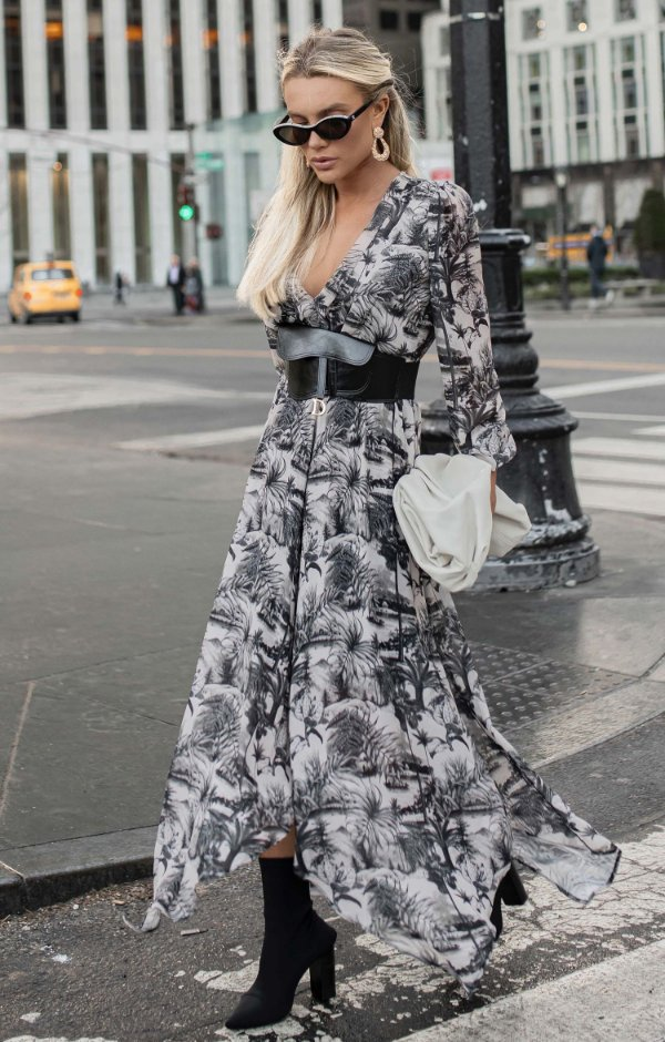 NYC COLLECTION | Vestido Midi Toile de Jouy
