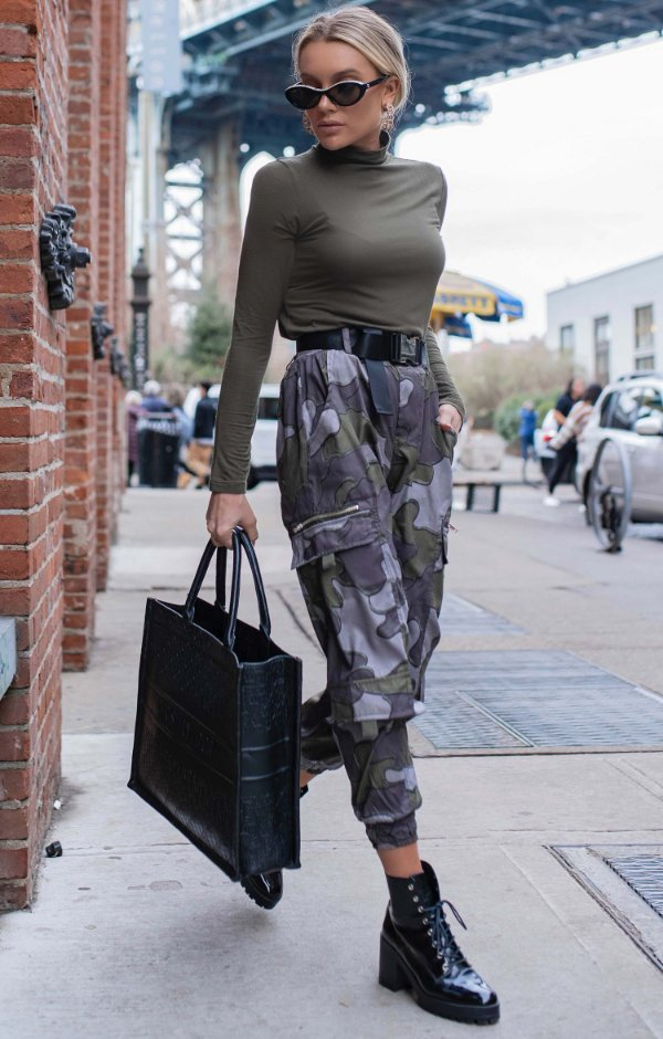 NYC COLECTION | Calça Camouflage