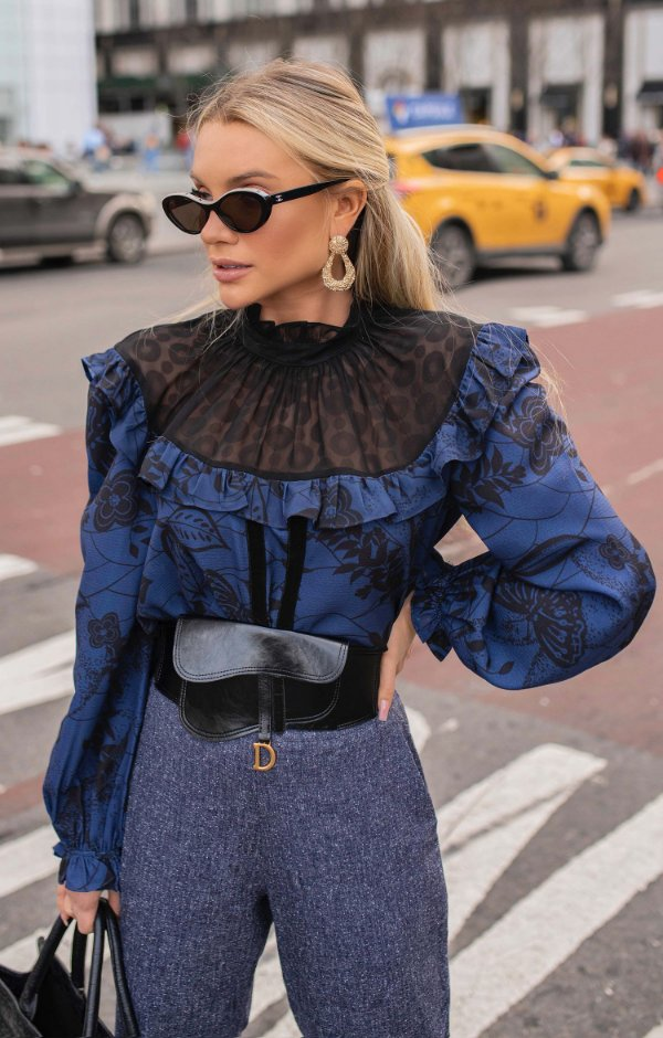 NYC COLLECTION | Camisa Victoriana