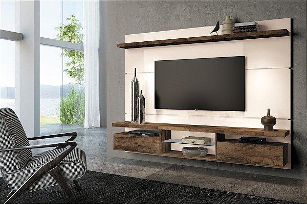 """Home HB suspenso Livin  2.2m para TV até 60"""""""