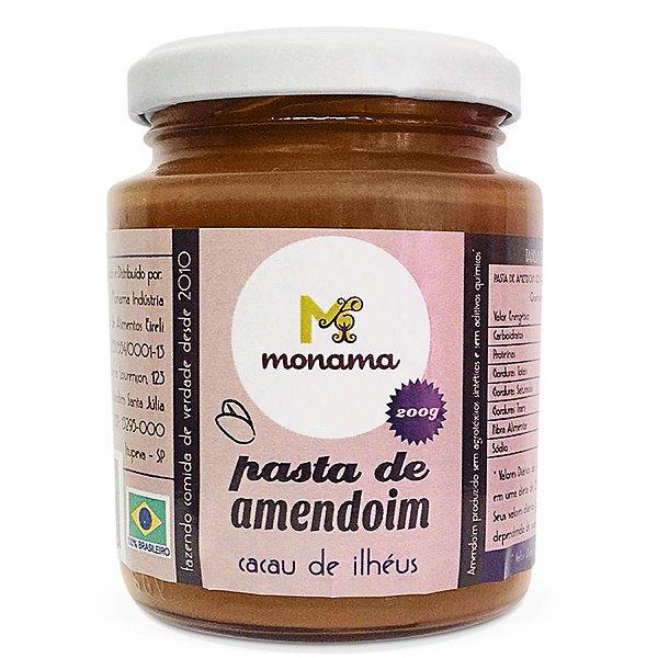 Pasta de Amendoim Monama com Cacau de Ilhéus 200g