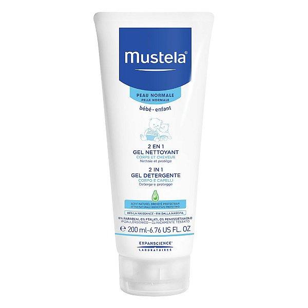 Mustela - Shampoo 2 em 1 Cabelo e Corpo, 200ml