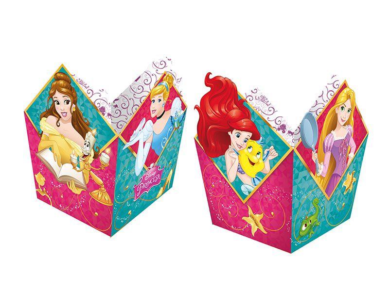 Cachepot Princesas 8 unidades