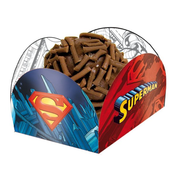 Porta Forminha - Superman - 40 unidades