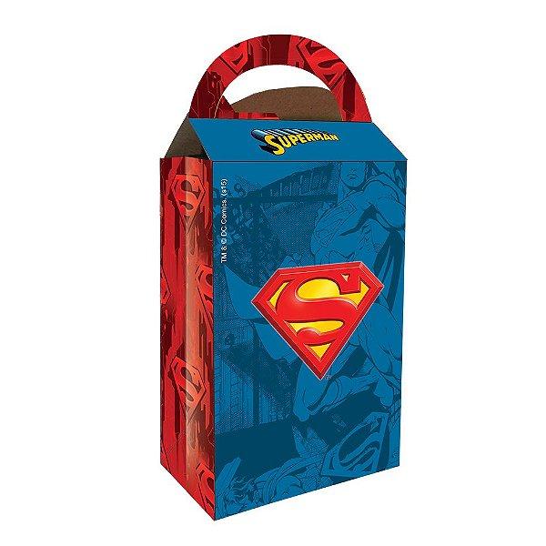 Caixa Surpresa - Superman - 08 unidades
