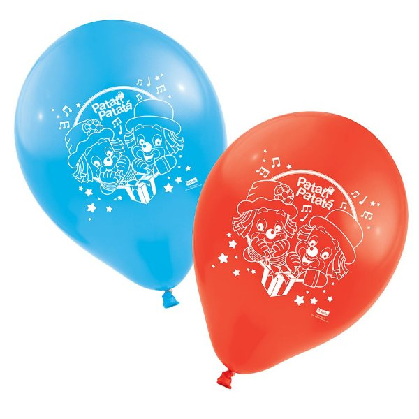 Balão  Patati Patata - 25 unidades