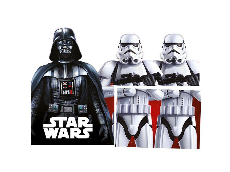 Painel 4 Folhas - Star Wars Clássico