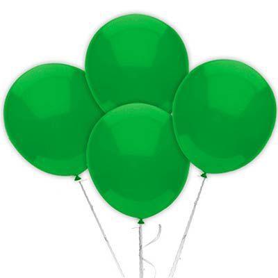 Balão Látex 9 Polegadas - Verde Escuro - 50 unidades