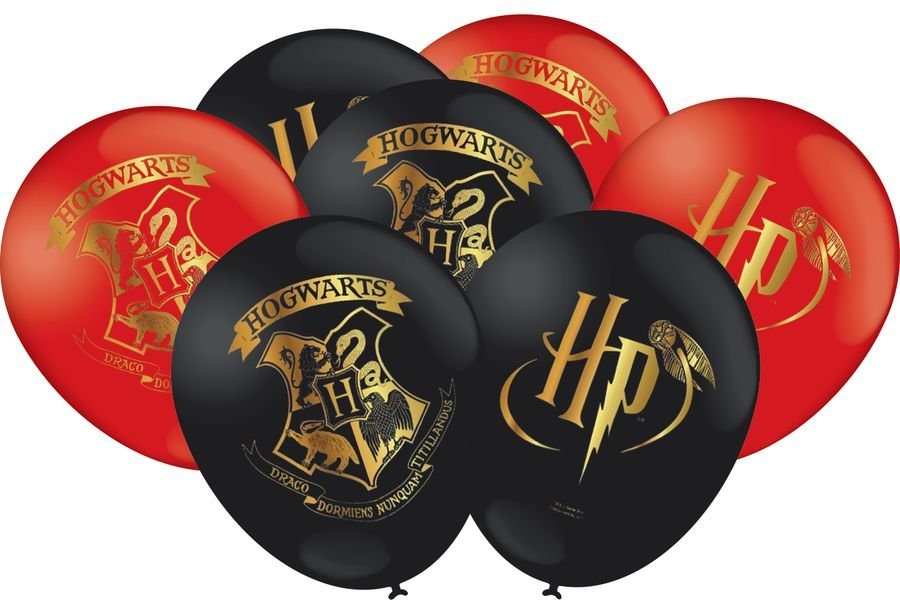 Balão Especial 9 Polegadas - Harry Potter - 25 unidades