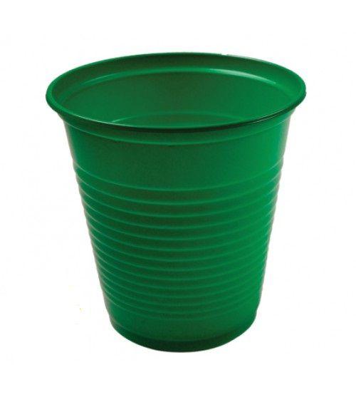 Copo Descartável - Verde Escuro - 200ml