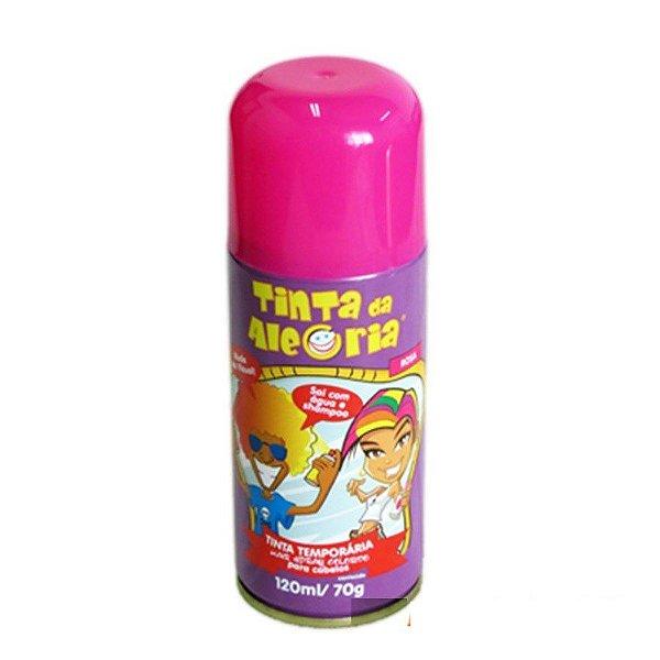 Tinta Spray de Cabelo - Rosa