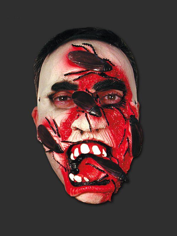 Máscara Látex Halloween - Zumbi Barata