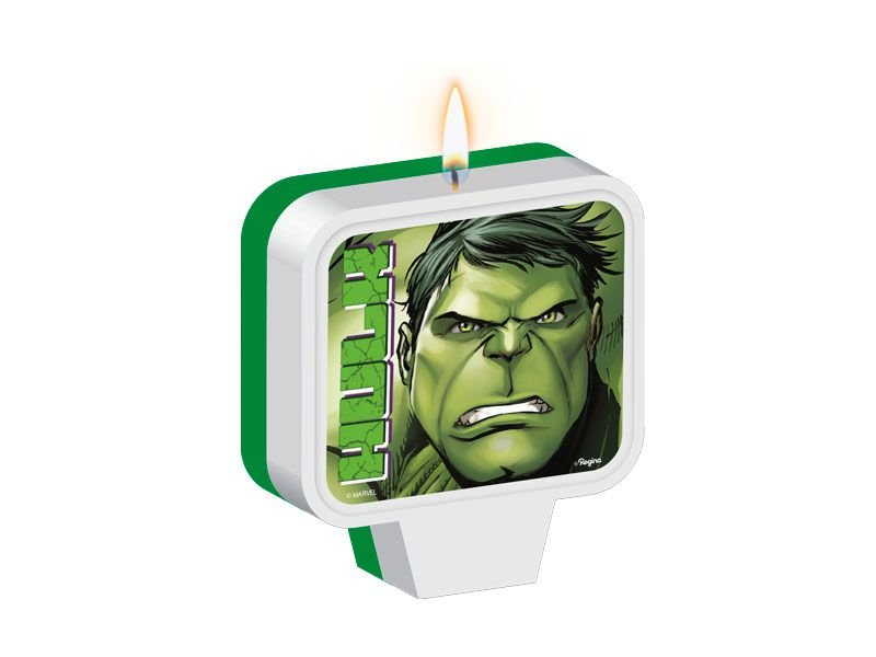 Vela Plana de Aniversario - Hulk Animação