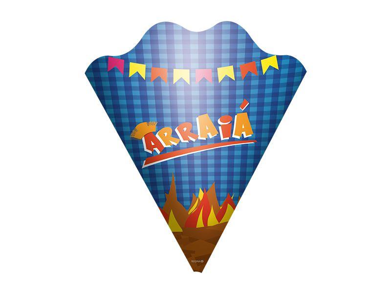 Cone para Aperitivo - Festa Junina - 06 unidades