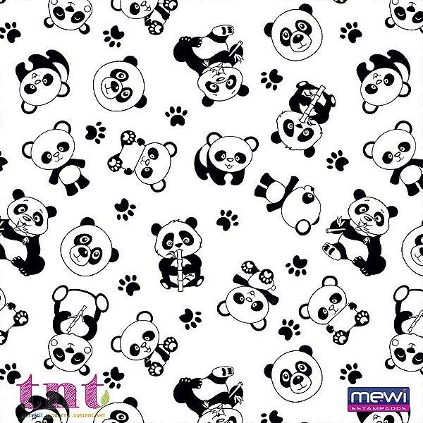 TNT Estampado - Panda - 05 Metros